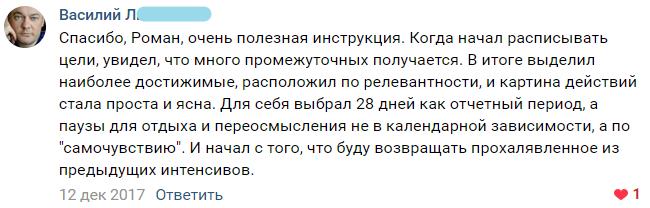 Отзыв от Василия Л.